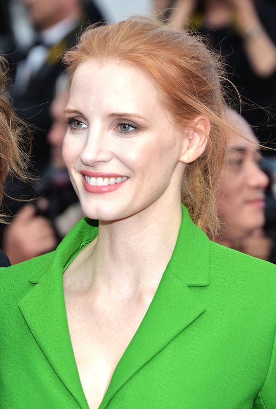 Addie looks like Jessica Chastain